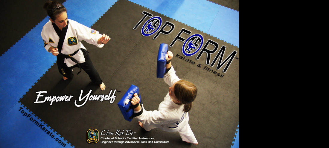 Self defense, kids karate, and Chun Kuk Do classes at Top Form Karate in Weirton, WV